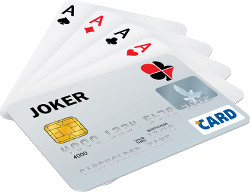 Credit and Playing Cards